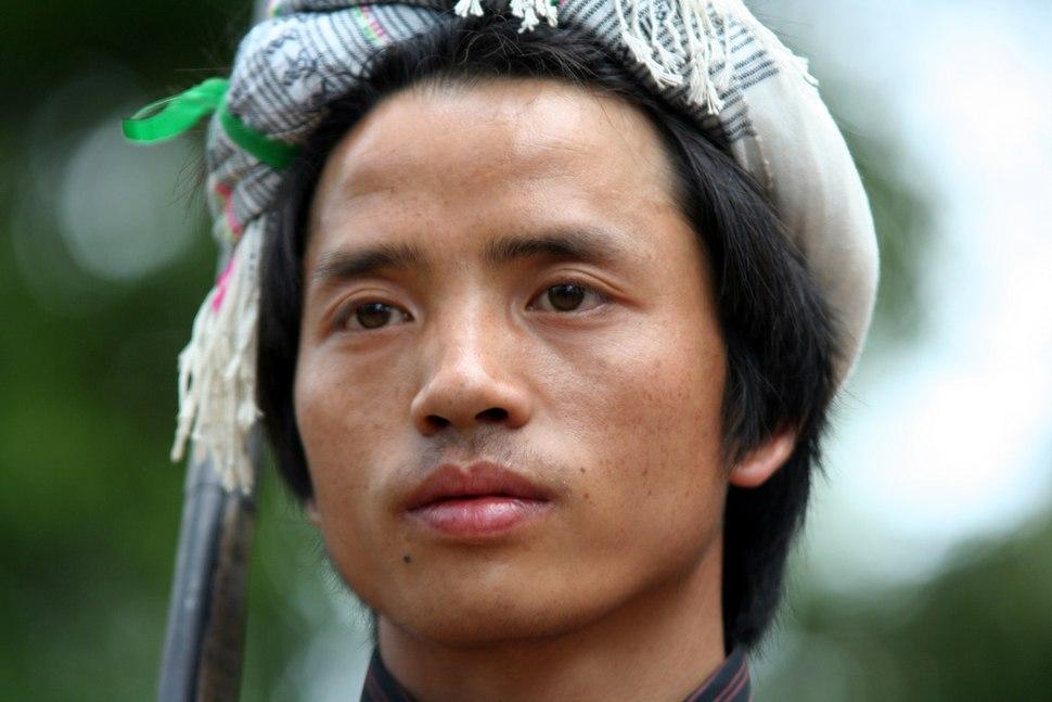 Miao zu-Miao minority young man