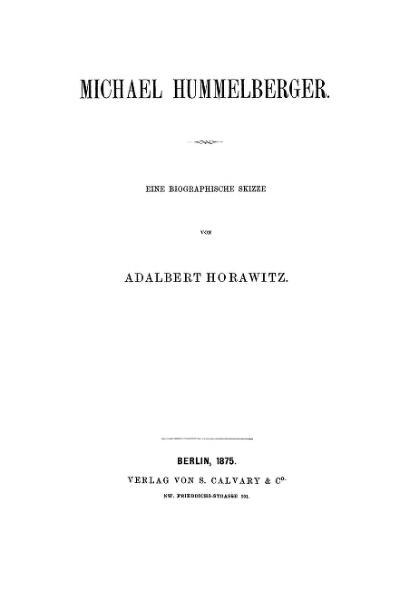 File:Michael Hummelberger. Eine biographische Skizze.djvu