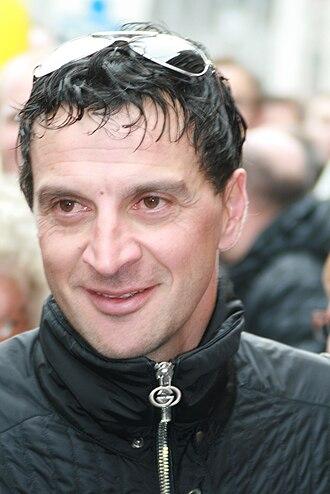 Michele Bartoli - Bartoli at the 2009 Tour of Flanders
