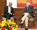 Microsoft CEO Satya Nadella meets Prime Minister Narendra Modi.jpg