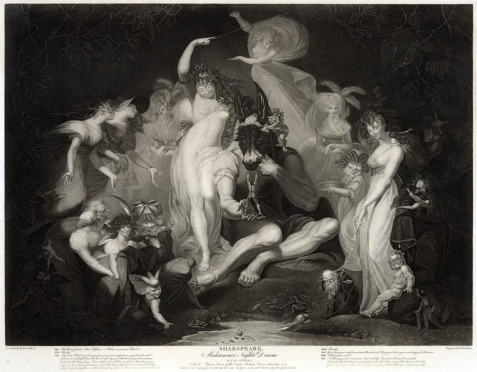 Midsummer Night%27s Dream Henry Fuseli2