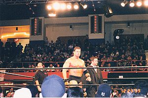 Mike Awesome Grilles the Crowd.jpg