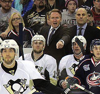 Mike Johnston (ice hockey) Canadian head coach, ice hockey player and writer