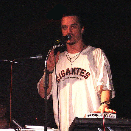 Vocalist Mike Patton joined Faith No More in 1988, succeeding Chuck Mosley. Mike patton.jpg
