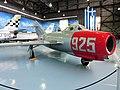 Mikoyan-Gurevich MiG-15 (Lim-2Rbis) jet fighter aircraft - Αεριωθούμενο μαχητικό αεροσκάφος (26999656936).jpg
