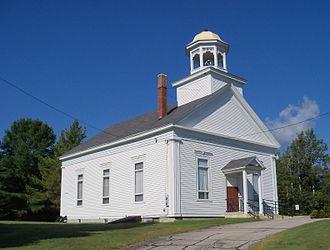 Milan, New Hampshire - Image: Milan First United Methodist Church 5
