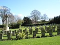 Military Cemetery at Christ Church, Widley - geograph.org.uk - 732020.jpg