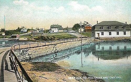 Deer Isle mailbbox