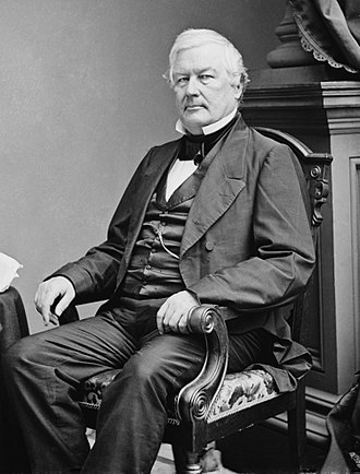 Millard Fillmore - Photo by Mathew Brady, c. 1855-65