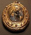 Miniatura su vetro con l'annuncio di gabriele, con oro e perline, firenze 1650 ca.jpg