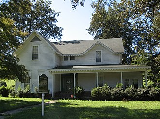 Friars Point, Mississippi - The Minie Ball House, the oldest house in Friars Point