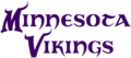 Minnesota Vikings wordmark (1961 - 1981).png