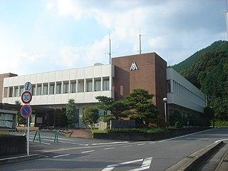 Mitake, Gifu Town in Chūbu, Japan