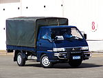 Mitsubishi Delica Truck of ROCAF in Chiayi Air Force Base 20120811.jpg