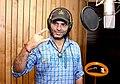 Mohit Chauhan recording a song.jpg