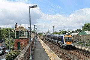 Moira railway station - Moira station in the summer