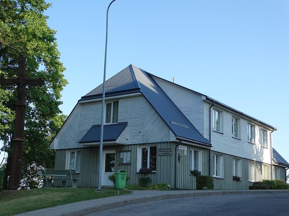 Molėtai, parapijos namai
