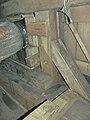 Molen Kerkhovense molen, kap bovenas hals keerstijl.jpg