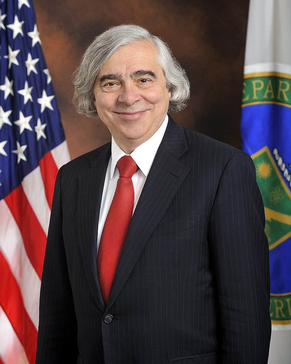 Moniz official portrait standing