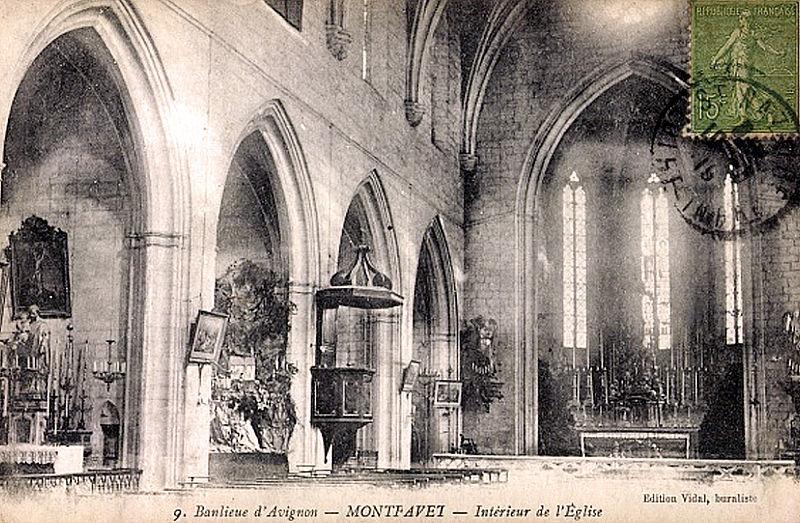 File montfavet vaucluse interieur de l 39 for Interieur eglise