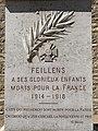 Monument morts XXe siècle Feillens 27.jpg