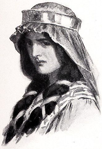 King Arthur's family - Morgan le Fay by W. H. Margetson (1914)