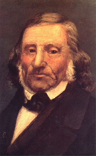 Moritz Daniel Oppenheim - Portrait of Leopold Zunz