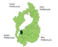 Moriyama in Shiga Prefecture.png