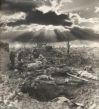First Battle of Passchendaele - The morning after the First Battle of Passchendaele