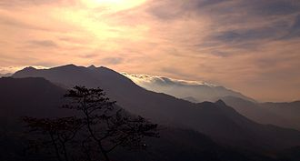 Ponmudi - Morning view from Ponmudi