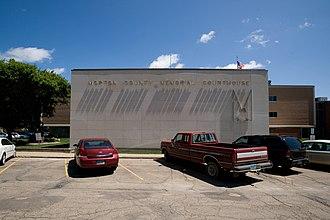 Morton County, North Dakota - Image: Morton county north dakota courthouse 2009