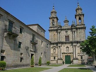Poio - Image: Mosteiro de San Xoán de Poio
