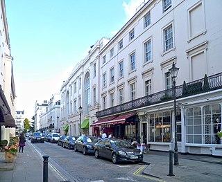 Motcomb Street street in City of Westminster, United Kingdom