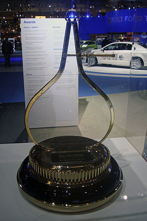 "Motor Trend Car of the Year - Motor Trend Car of the Year ""golden calipers"" trophy"