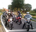 Motorcycles on a road in Germany.jpg