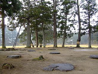 Mōtsū-ji - The ruins of Enryū-ji temple.