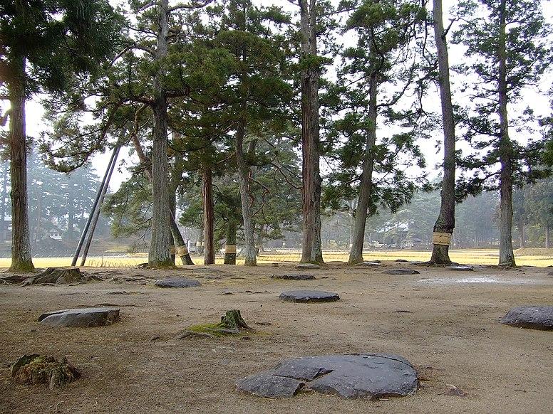 Motsuji Temple Hiraizumi 2007-01-27