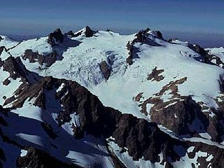 mountain in the Olympic Mountains of western Washington state
