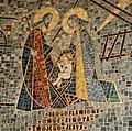 Mozaika w kościele pw. Nawiedzenie NMP w Medyni Głogowskiej (projektował i wykonał prof. Jan Budziło).jpg