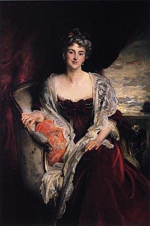 Mary Jeune, Baroness St Helier - Mrs. Augustus Allusen (Osma Mary Dorothy Stanley), John Singer Sargent, 1907