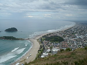Mount Maunganui - View from the mountain.