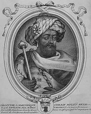 Al-Rashid of Morocco - Image: Mulay al Rashid