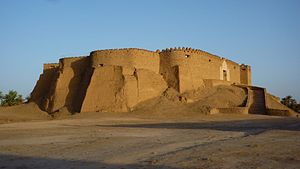 Murzuq District - Image: Murzuq Festung Qala at Turk über dem Ort