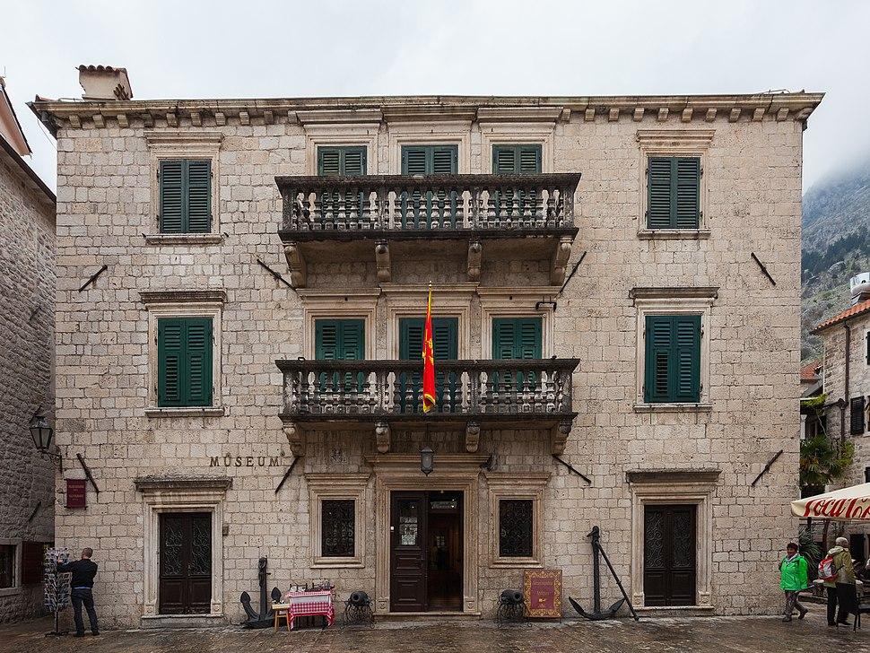 Museo Marítimo, Kotor, Bahía de Kotor, Montenegro, 2014-04-19, DD 31
