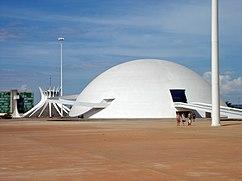 Museo Nacional, Complejo Cultural de la República, Brasilia (2005-2006)
