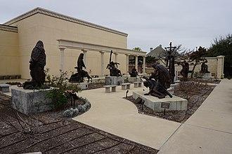 Museum of Biblical Art (Dallas) - Via Dolorosa Sculpture Garden at the Museum of Biblical Art