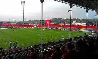 Musgrave Park, Cork - Musgrave Park stands prior to renovation, September 2013