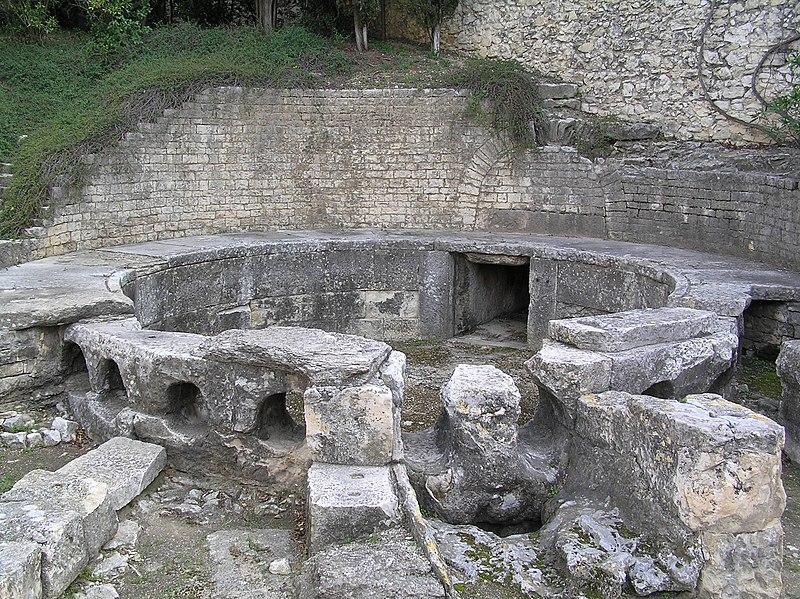 File n mes castellum divisorium chambre de distribution for Chambre des commerces nimes
