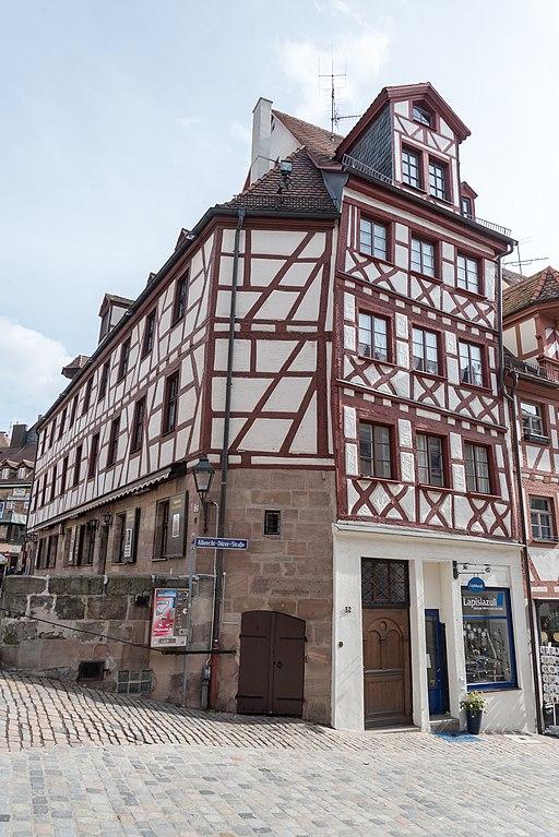 Nürnberg, Beim Tiergärtnertor 3, Albrecht-Dürer-Straße 32-20160304-001