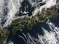 NASA Satellite View of Japan Captured March 5, 2011 (5517332004).jpg